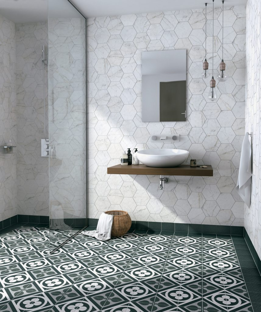 CARRARA HEXATILE WALL (EqPe_C)